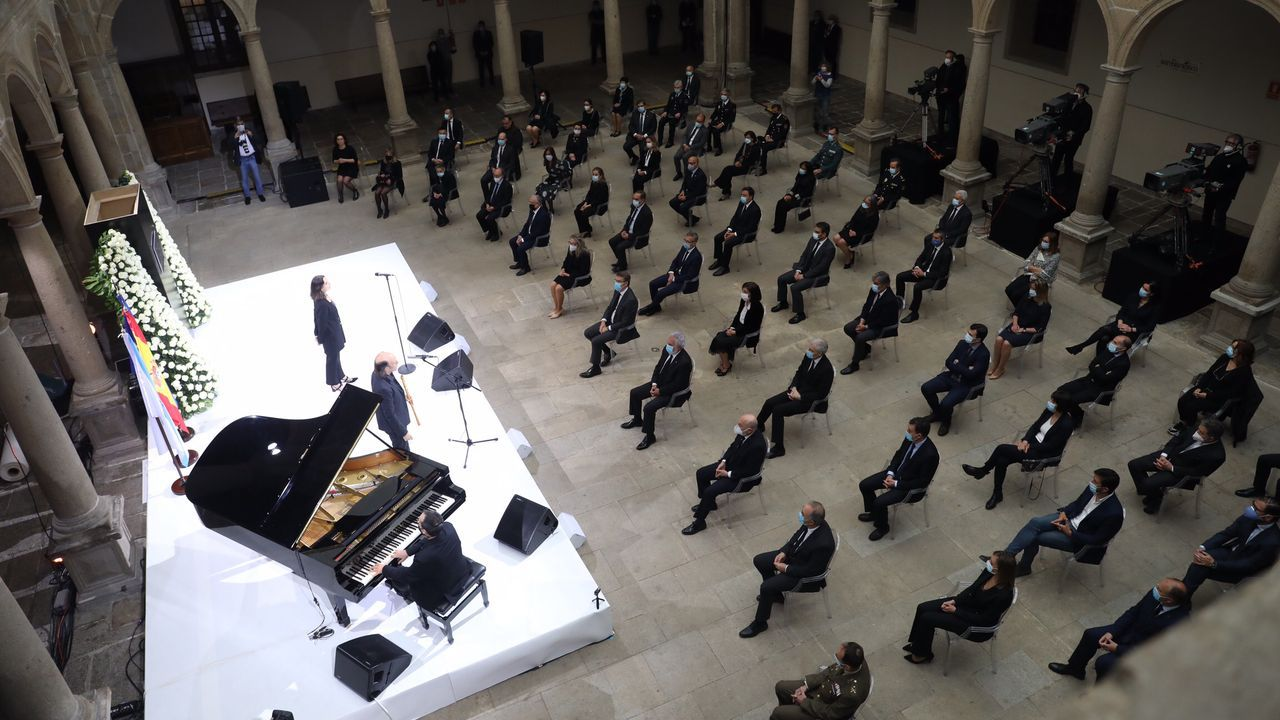 Homenaje Galicia fallecidos COVID-19