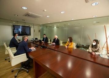 Reunión vicepresidente Xunta con Observatorio Profesional